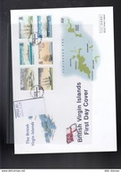 British Virgin Islands Michel Cat.No. FDC 1021/1026 Ships - British Virgin Islands