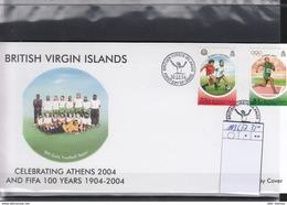 British Virgin Islands Michel Cat.No. FDC 1116/1117 FIFA - British Virgin Islands
