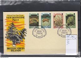 British Virgin Islands Michel Cat.No. FDC 382III Coral - British Virgin Islands