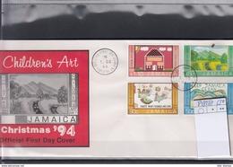 Jamaica Michel Cat.No. FDC 848/851 Christmas - Jamaica (1962-...)