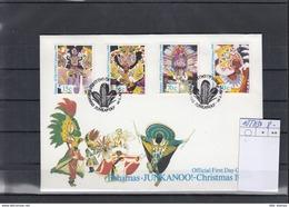 Bahamas Michel Cat.No. FDC 1027/1030 Christmas - Bahamas (1973-...)