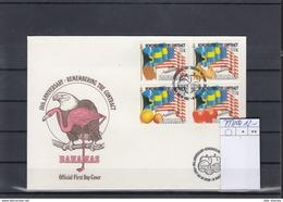 Bahamas Michel Cat.No. FDC 797/800 - Bahamas (1973-...)
