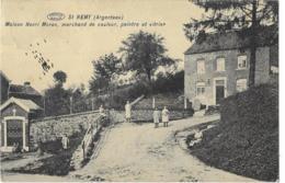 ST  REMY  ( Argenteau ) - Maison Henri Moron, Marchant De Couleur, Peintre Et Vitrier - Visé