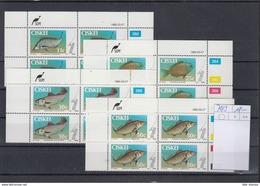 Ciskei Michel Cat.No. Mnh/** 70/73 Fish Cylinder Bloc - Ciskei