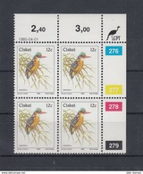 Ciskei Michel Cat.No. Mnh/** 56 Birds Cylinder Bloc - Ciskei