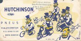 Buvard HUTCHINSON CYCLE ET MOTOS JEAN WANAVERBECQUE WATTRELOS - Automobil