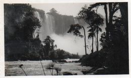 V48Pt    Photo Angola Chutes D'eau De Kalandula Années 50 - Angola
