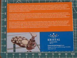 Ticket Biglietto Ingresso Casino Kristal Umag 2010 Croazia - Eintrittskarten