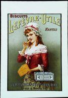 Publicité Biscuits Lefevre Utile Nantes LU - Publicidad