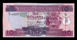 Islas Salomón Solomon 10 Dollars 2006 Pick 27a Serie C/2 SC UNC - Salomons