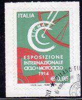 ITALIA REPUBBLICA ITALY REPUBLIC 2016 LE ECCELLENZE DEL SISTEMA PRODUTTIVO EICMA ESPOSIZIONE CICLO MOTOCICLO USATO USED - 6. 1946-.. Repubblica