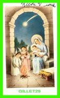 IMAGES RELIGIEUSES - MARIE AVEC JÉSUS ET 2 ANGES - ÉCRITE - - Devotion Images