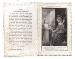 Image Pieuse Prière à Notre-Dame De La Vie Cachée - Format : 12x8cm - Devotion Images