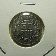 Brazil 50 Reis 1919 - Brésil