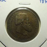 Brazil 20 Reis 1870 - Brésil