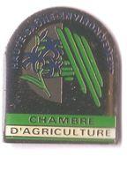 PP95 Pin's Chambre Agriculture Haute Saône Environnement Fleur Violette Achat Immédiat - Administrations