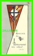 IMAGES RELIGIEUSES - DEMEUREZ EN MOI JE DEMEURERAI EN VOUS - ÉCRITE - - Devotion Images