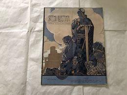 SCENA ILLUSTRATA EZIO ANACHINI GUERRIERO ARALDICA FORTEZZA 14 FEBBRAIO 1916. - Books, Magazines, Comics