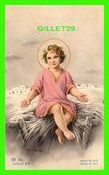 IMAGES RELIGIEUSES - JÉSUS ASSIS SUR LA PAILLE - MA.R. DEP. CIELO 25 - ÉCRITE - - Devotion Images
