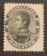 VENEZUELA  FISCAUX POSTAUX YT 92 NEUF* ANNÉE 1901 - Venezuela