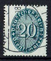 Mi. 119 X O - Dienstzegels