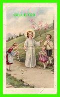 IMAGES RELIGIEUSES - JÉSUS RENCONTRE DES ENFANTS SUR SON CHEMIN - ÉCRITE EN 1959 - CABI No 324 - - Devotion Images