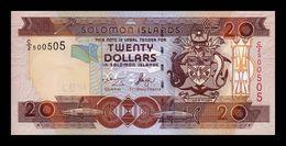 Islas Salomon Solomon 20 Dollars 2004 Pick 28a SC UNC - Salomons