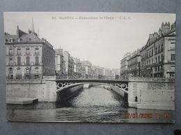 """CPA 44 NANTES Embouchure De L'Erdre - Fabrique De Bouchons En Liège  Maison  """" Le Cadre Guépéroux """" Vers 1910 - Nantes"""