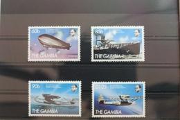 Gambia 535-538 ** Postfrisch Flugzeuge #SE131 - Gambie (1965-...)