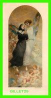 IMAGES RELIGIEUSES - UN ANGE AMÈNE AU CIEL MARGUERITE BOURGEOYS - PRIÈRE, ALBERTUS VALOIS EN 1953 - - Devotion Images