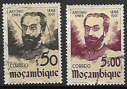 MOZAMBIQUE.     1948.    Y&T N° 358 à 359 Oblitérés.   Antonio Enes. - Mozambique