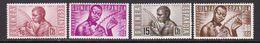 GUINEA 1953 - Serie Nueva Sin Fijasellos Edifil Nº 321/324 - MNH - - Guinea Espagnole