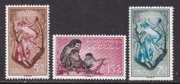GUINEA 1955 - Serie Nueva Sin Fijasellos Edifil Nº 355/357 - MNH - - Guinea Espagnole