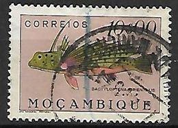 MOZAMBIQUE.     1951 .   Y&T N° 406 Oblitéré.   Poisson - Mozambique