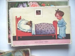 Nederland Holland Pays Bas Kinderkaart Slaap Zacht Teddy KK4 - Tarjetas Humorísticas