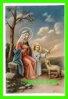 IMAGES RELIGIEUSES MINI - JÉSUS, MARIE, COLOMBE & MOUTON - NB No 6-031 - - Devotion Images