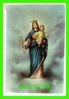 IMAGES RELIGIEUSES MINI - LA MADONE ET JÉSUS DANS SES BRAS - NB No 6-027 - - Devotion Images