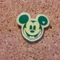 PINS DISNEY TETE  VERT POMME - Disney