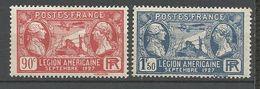 LEGION ETRANGERE N° 244 ET 245 NEUF** LUXE SANS CHARNIERE / MNH - Unused Stamps