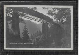 AK 0520  Schwarzwald - Höllsteig / Ravennabrücke Mit Eisenbahn Um 1922 - Ponts