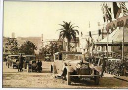 Vue De Deux Rosengart 5CV Et Rolls Royce  (1927)  -   Publicité  D'epoque    -  CPM - Voitures De Tourisme