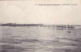 DAH1  --  AFRIQUE OCIDENTALE  --  DAHOMEY  ----  COTONOU  --   LE WARF  --  1914 - Dahomey