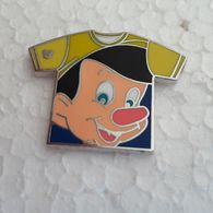 PINS DISNEY TEE SHIRT TETE PINOCCHIO - Disney