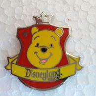 PINS DISNEY TETE WINNIE DISNEYLAND RESORT - Disney