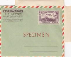 Ethiopia Aerogram Specimen With Perfin Specimen 1960-70 - Ethiopie