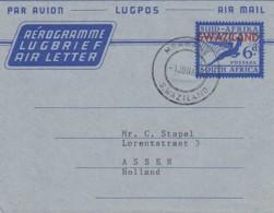 Swaziland Aerogram 1959 - Swaziland (1968-...)