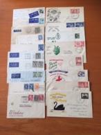 +++ Sammlung 40 Briefe Und Karten Australia And States From 1888 +++ - Francobolli