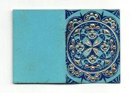 Petit Almanach Pour 1972 A La Source Des Fleurs Cahors Transflor - Couverture Avec Relief Et Dorure - Format : 4x5.5 Cm - Kalenders