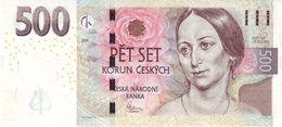 500 Korun Czech Republic UNC 2009 - Tchéquie