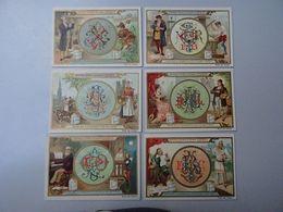 Série De Chromos Liebig San414 Belge: Monogrammes à Chercher - Liebig